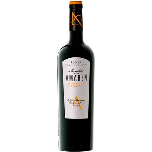 botella de vino tinto Ángeles de Amaren 2011