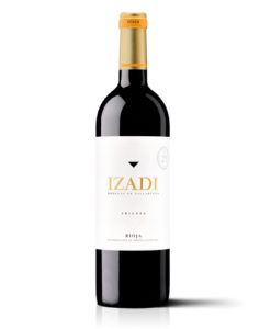botella de vino tinto Izadi Crianza 2014