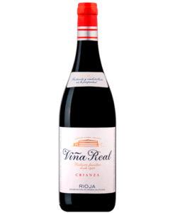 botella de vino Cvne Viña Real Crianza 2014