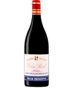 botella de vino Cvne Viña Real Gran Reserva 2009