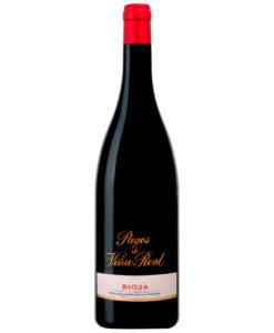 botella de vino Pagos de Viña Real 2015