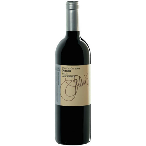 botella de vino tinto Ostatu Cosecha Selección 2014