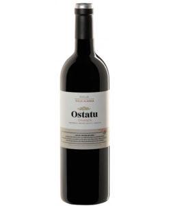 botella de vino tinto Ostatu Crianza 2015
