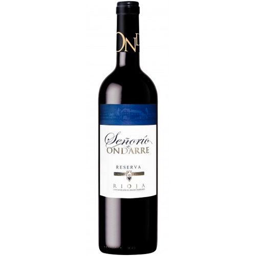 botella de vino Señorio de Ondarre reserva 2013