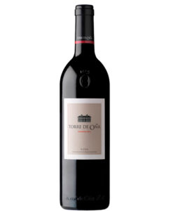 botella de vino tinto Torre de Oña Reserva 2012