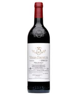 botella de vino tinto Vega Sicilia Único 2005