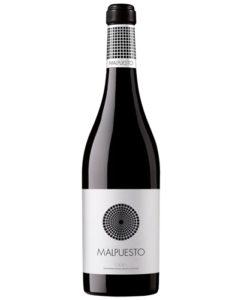 botella del vino rioja Malpuesto 2014