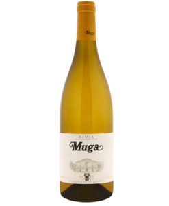 muga-white-wine-barrel-fermented-bottle