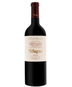 botella de vino tinto Muga Reserva Selección Especial 2011