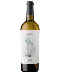 botella de vino blanco marko Txakoli 2017