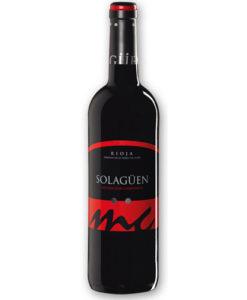 botella de vino tinto Solagüen Maceración Carbónica