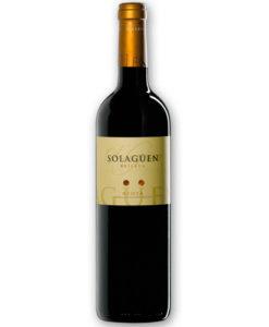 botella del vino SOLAGÜEN RESERVA 2009