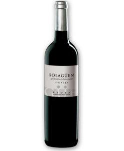 botella de vino de Solagüen Selección Aniversario 2006