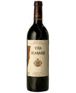 Botella de vino Viña Olabarri Gran Reserva 2010