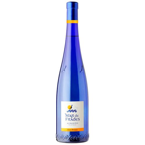 botella de mar de frades de uva albariño