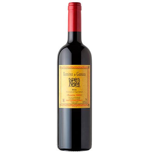 botella de vino vino Remirez de Ganuza Reserva